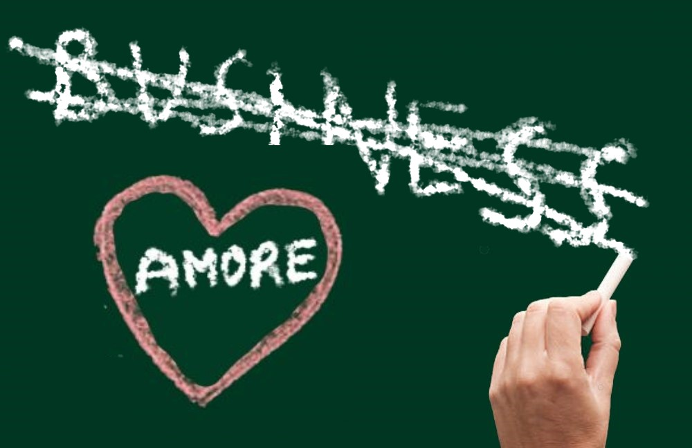 l'amore non è un business