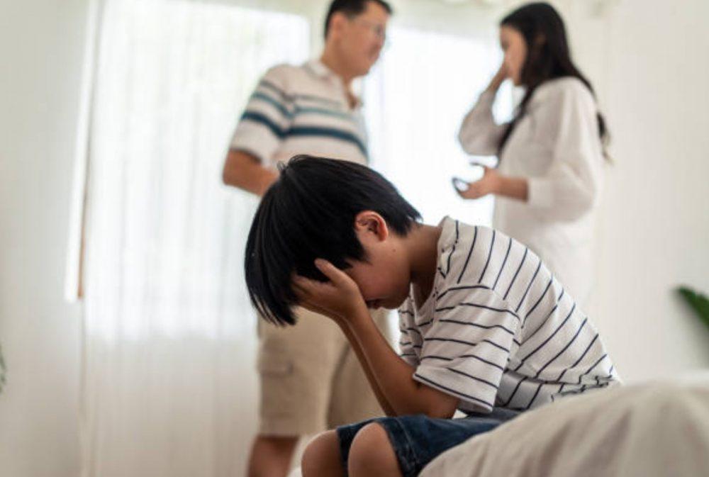 sofferenza dei figli